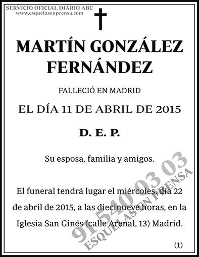 Martín González Fernández